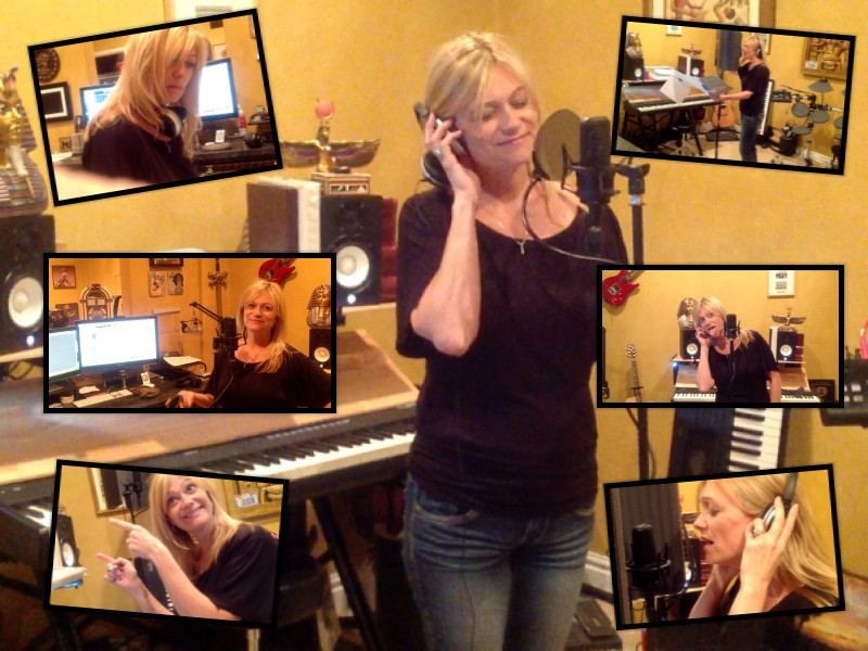 Caroline in the Studio!